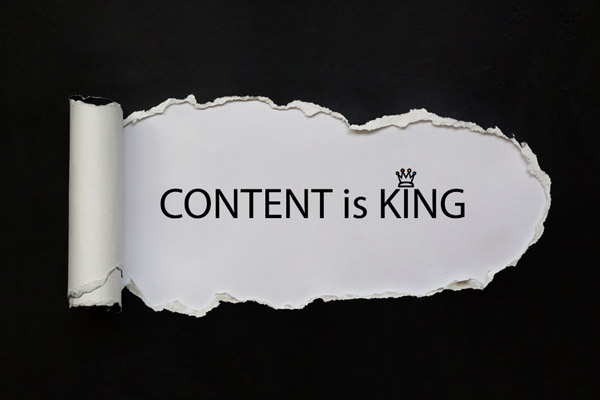 Is content still king? Great content grabs people's attention and communicates on a deeper level.